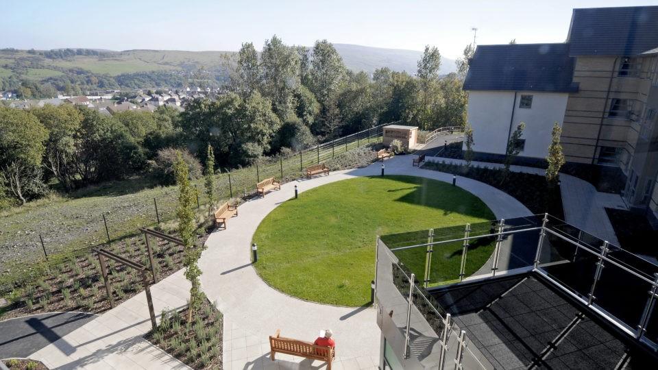 Ebbw vale garden Layout