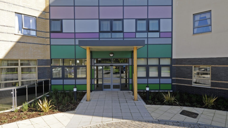 Later Living Assisted Living Extra Care Ebbw vale entrance