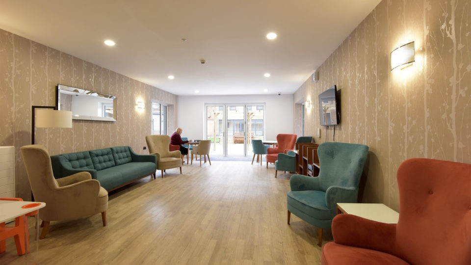 Assisted living care home architectural design
