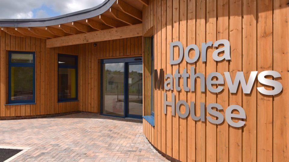 Dora Matthews Coleford entrance