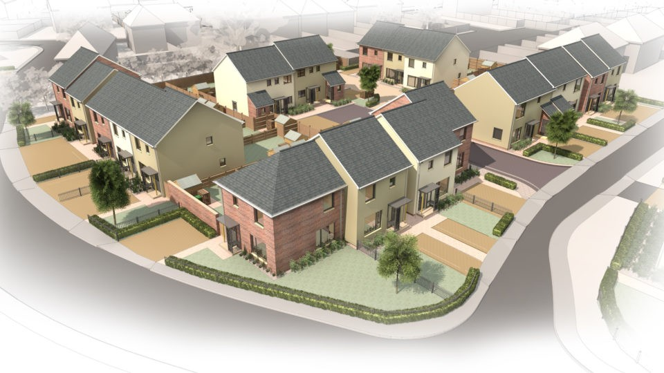 Residential housing regeneration architectural design services