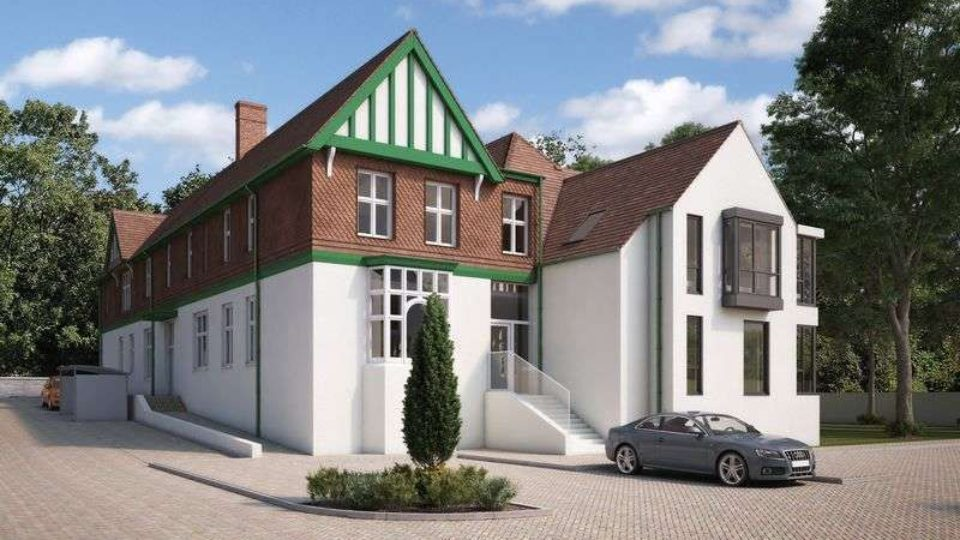 Housing Listed Design and Build The Rolls Building Monmouth