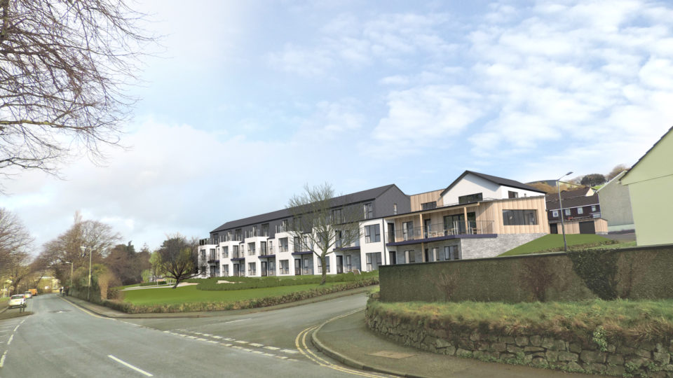 Masterplanning Housing CGI
