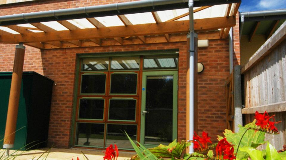 Education Nursery Tree Tops Kidderminster garden view