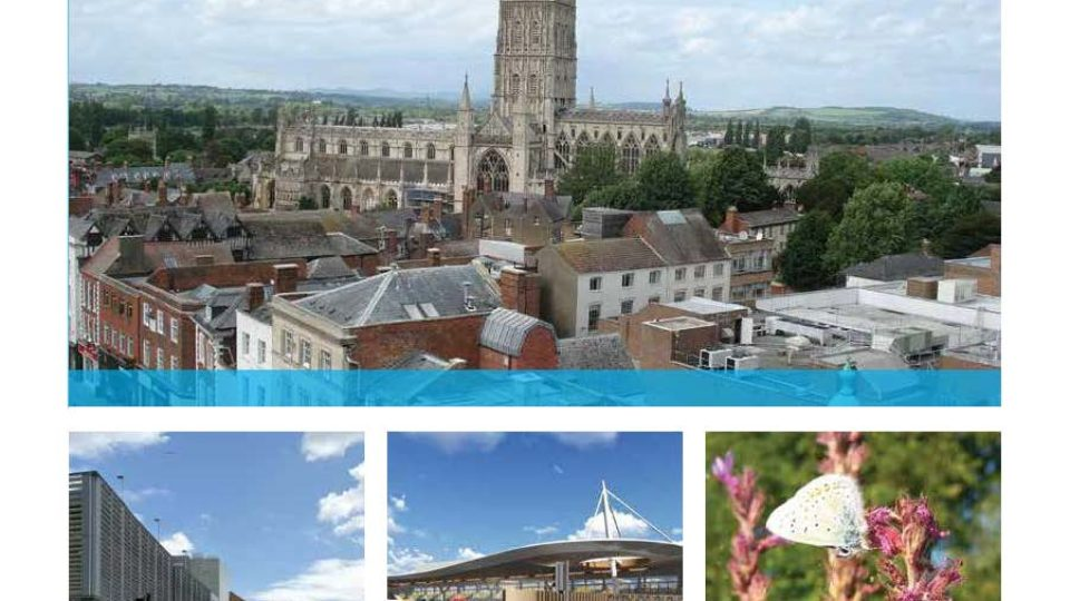 Glos City Plan cover