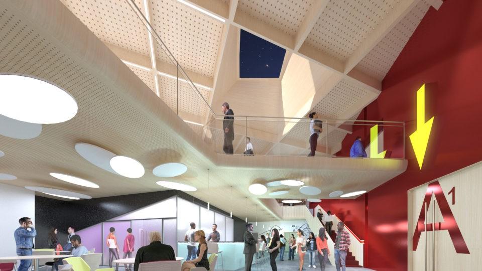 Olympus Theatre Interior CGI