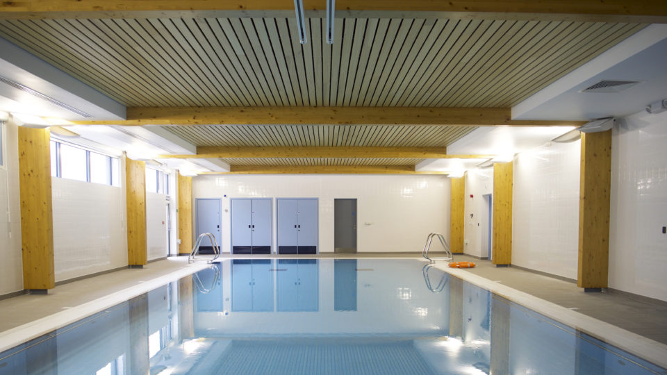 Healthcare Tertiary Chamwell hydrotherapy pool Gloucester