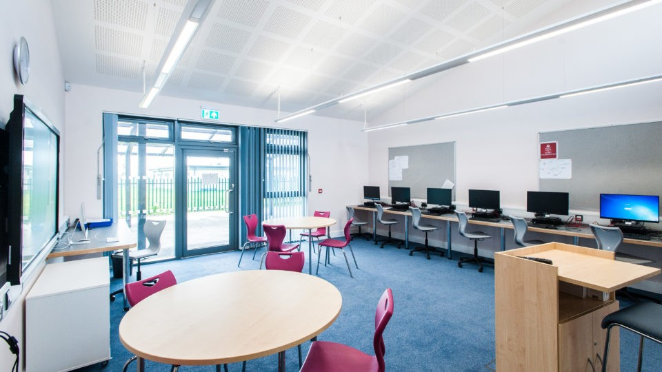 Education Special Schools alderman knight Tewkesbury post 16 classroom