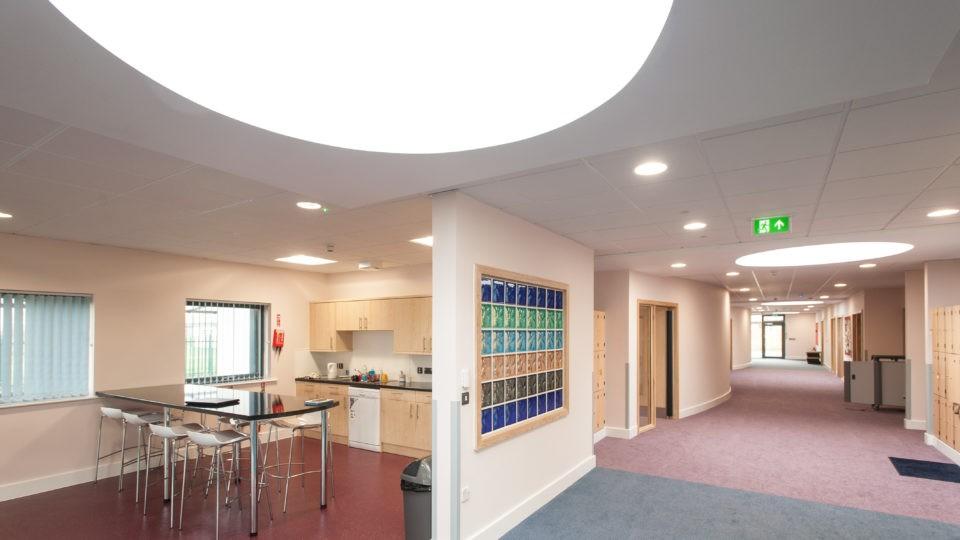 Education Special Schools alderman knight Tewkesbruy post 16 interior