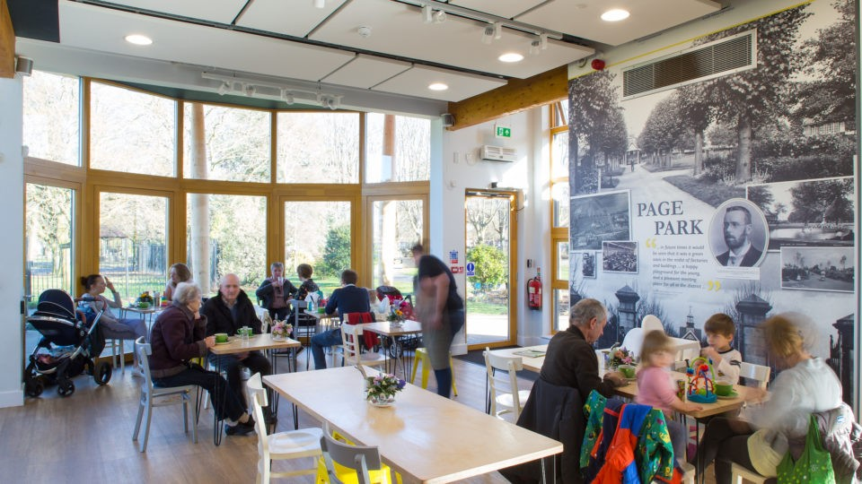 Hospitality & Leisure page park Bristol interior