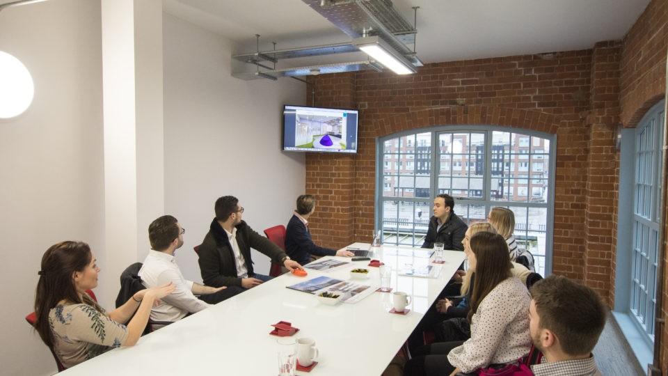 Quattro Design Architects meeting