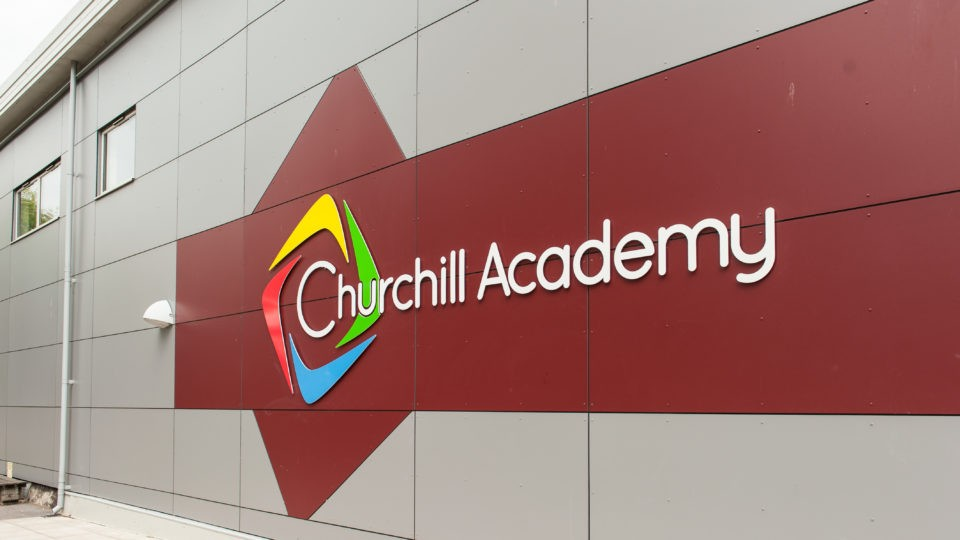 Churchill academy North Somerset signing