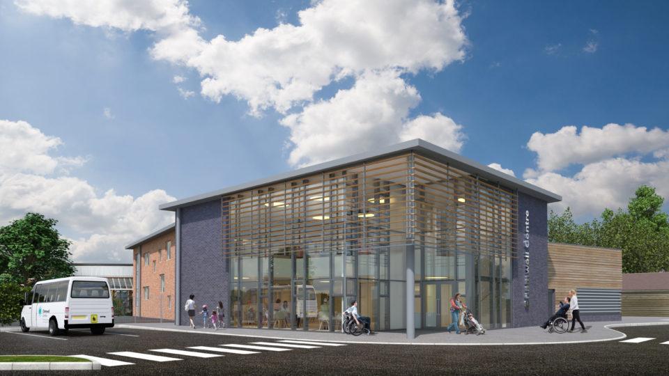 The Chamwell Centre CGI