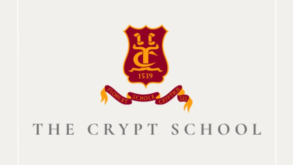 The Crypt School Logo