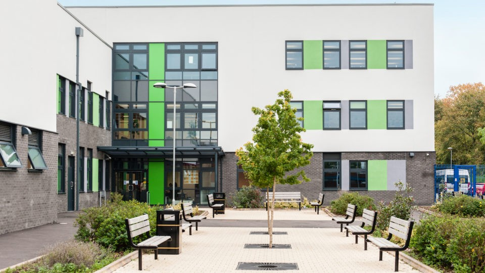 Eduaction Secondary Kings Staffordshire exterior