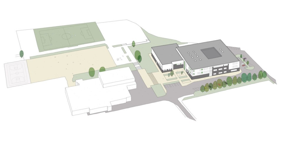 Eduaction Secondary Kings Staffordshire sketch
