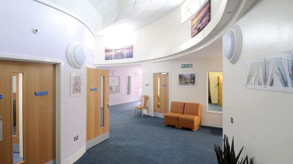 Healthcare mental health PICU Gloucester interior 2