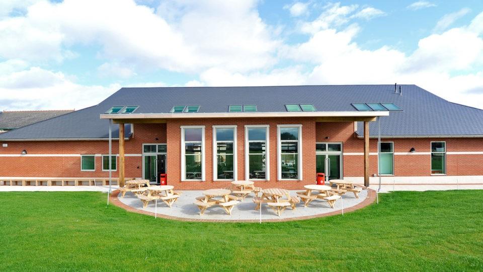 Academies Pates Cheltenham refectory