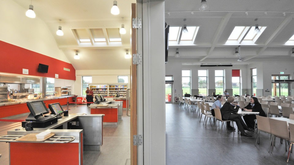 Education Secondary CIF Academies Pates Cheltenham dining view