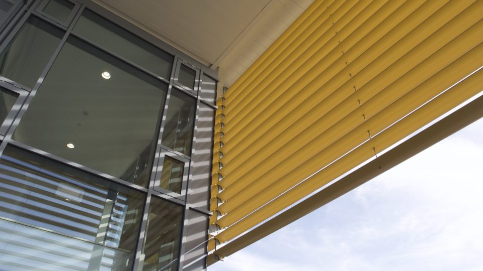 The Chamwell Centre, architectural detail