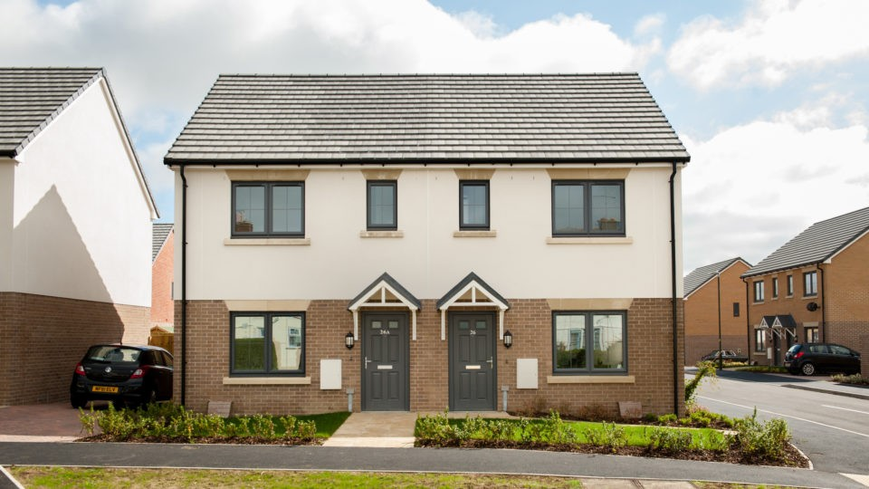 Housing Paterson Road Cirencester External