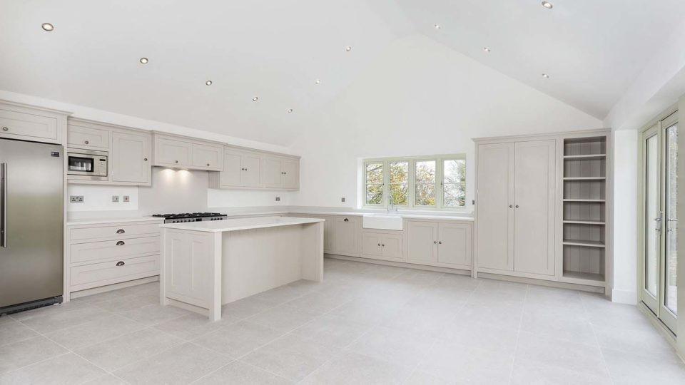 Residential housing architectural kitchen design