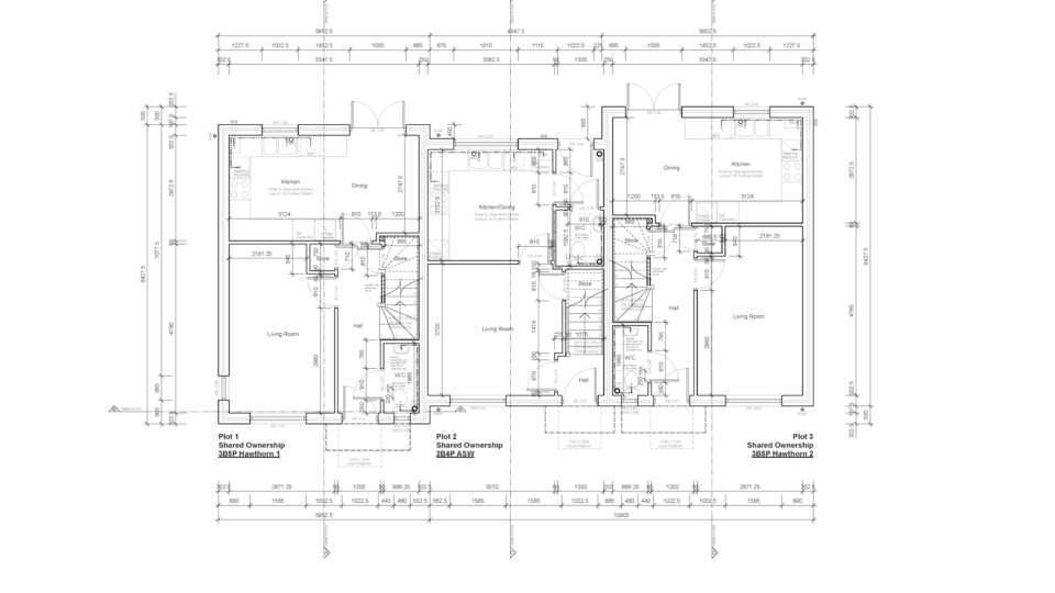 Design and Build Tynte Somerset Plan drawings
