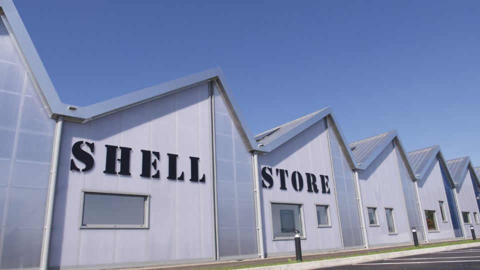 Commercial Shell Store Hereford External photo