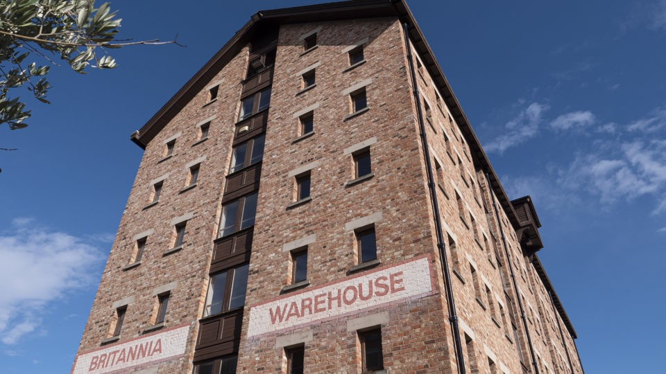 Britannia Warehouse at Gloucester Quays Commercial Architectural Services Feasibility Studies