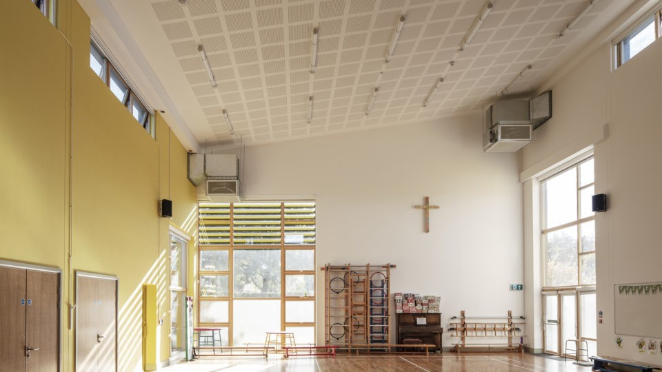 Colwall C of E Primary School gym