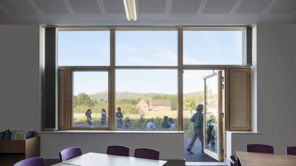 Colwall C of E Primary School classroom