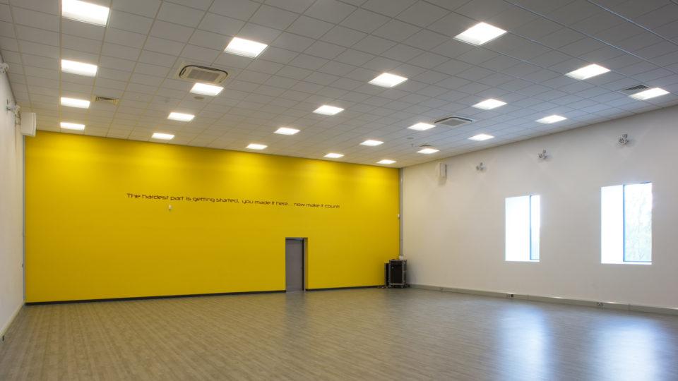 sports hall room