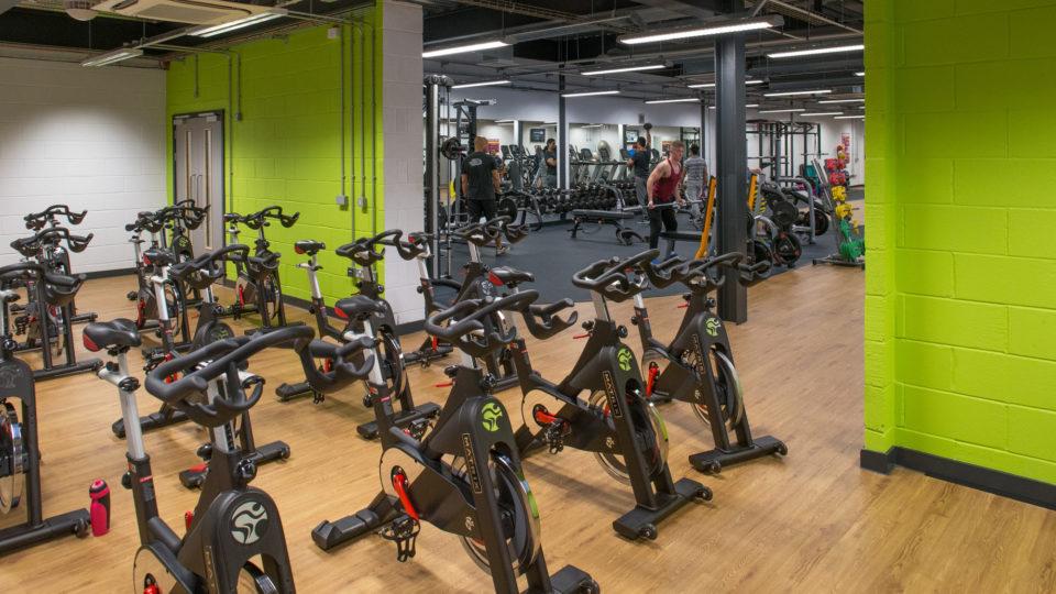 exercise bikes all ready