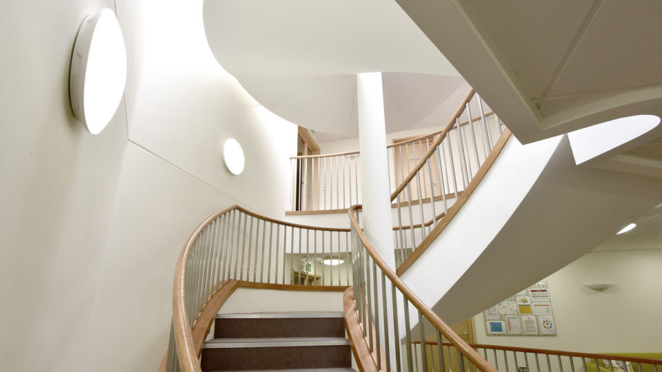 cheltenham ladies college stairs