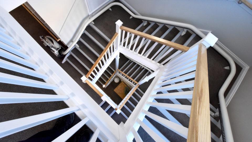 Tondu, Bridgend Care Home Stair Case
