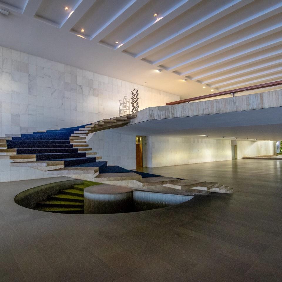 Brasilia, Brasil, Aug 29,2018, Entrance Hall Of Itamaraty