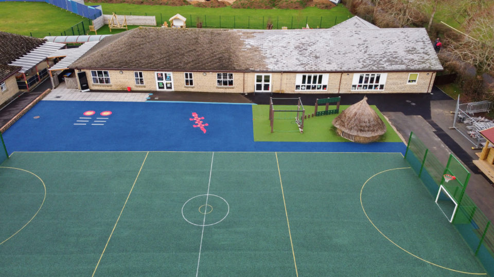 Bourton on the Water Primary School Football Pitch