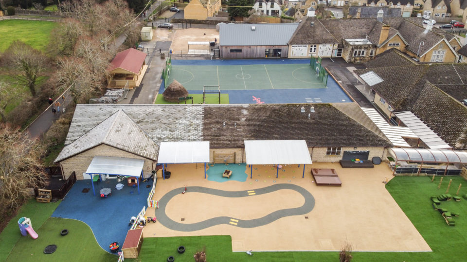 Bourton on the Water Primary School Playground design