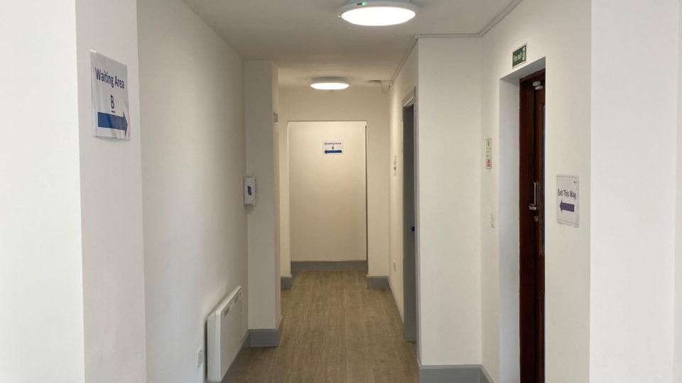 Bartongate GP Surgery Hallway