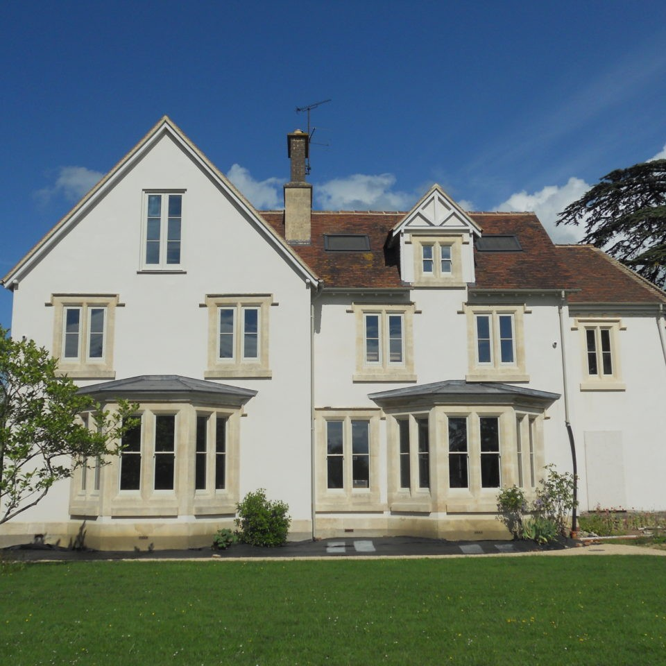 Highfield House front elevation