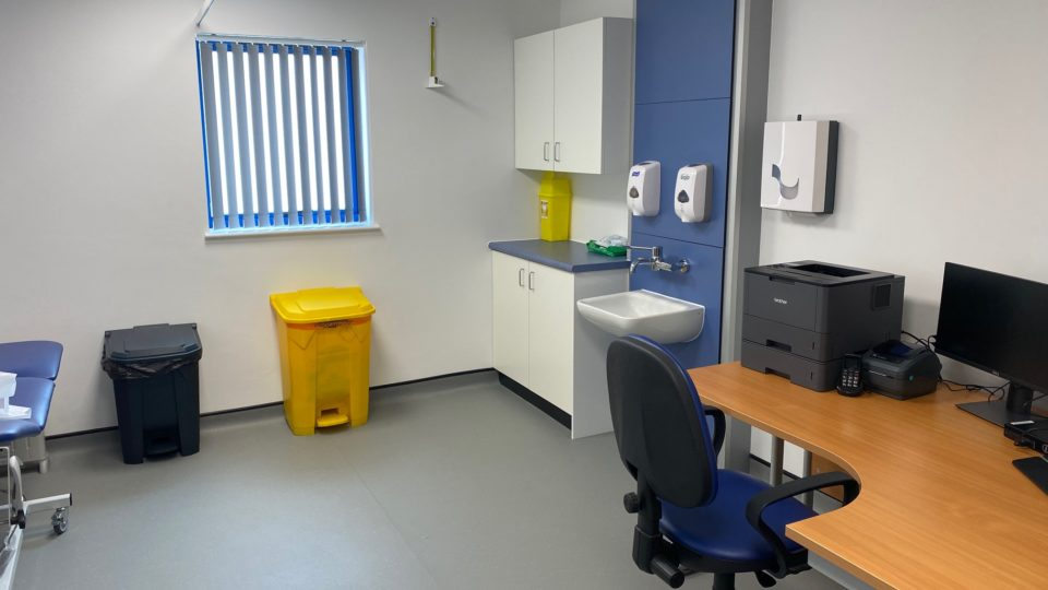 Bartongate GP Surgery Interior room