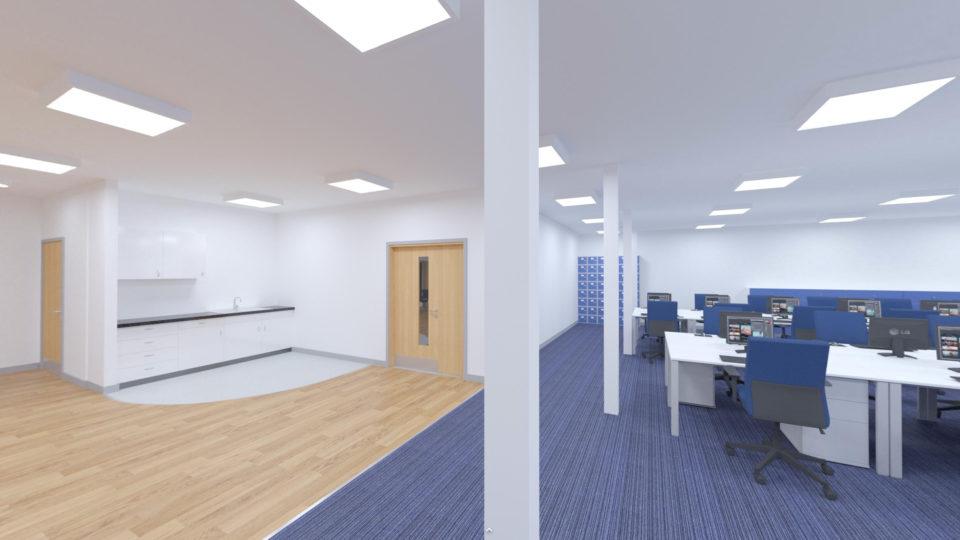 Life Centre Health & Wellbeing Hub Interior