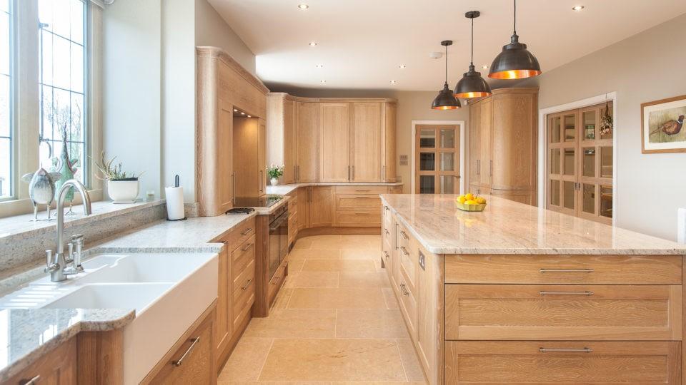 Bespoke Kitchen area