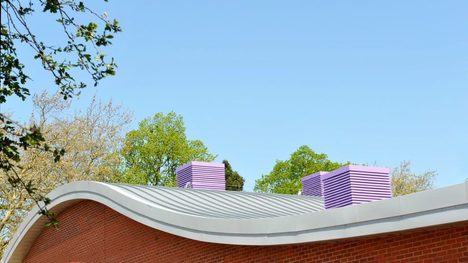 Stourport Primary School curved roof