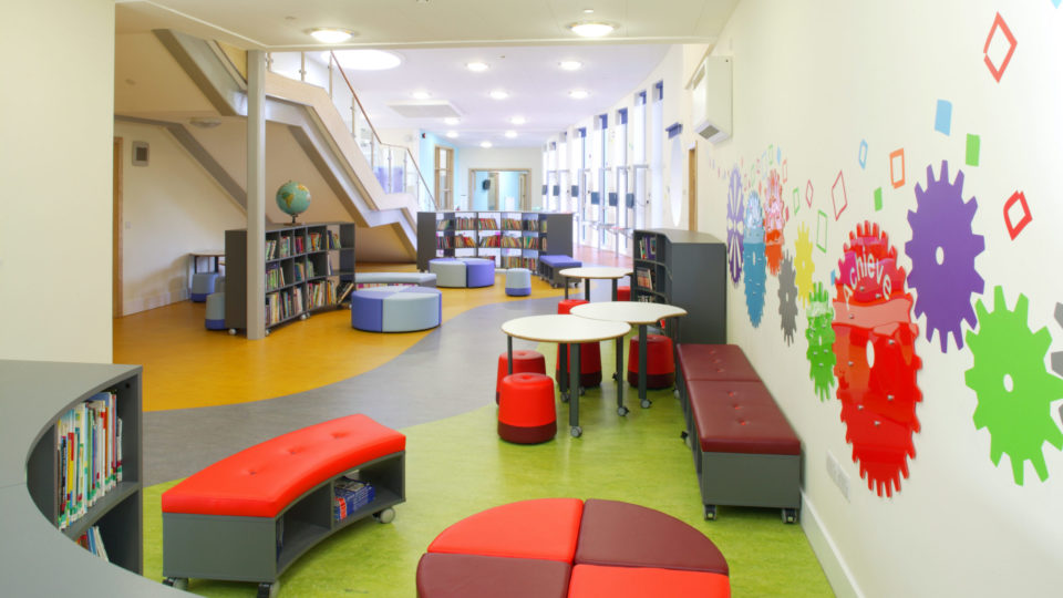 Stourport Primary School Interior