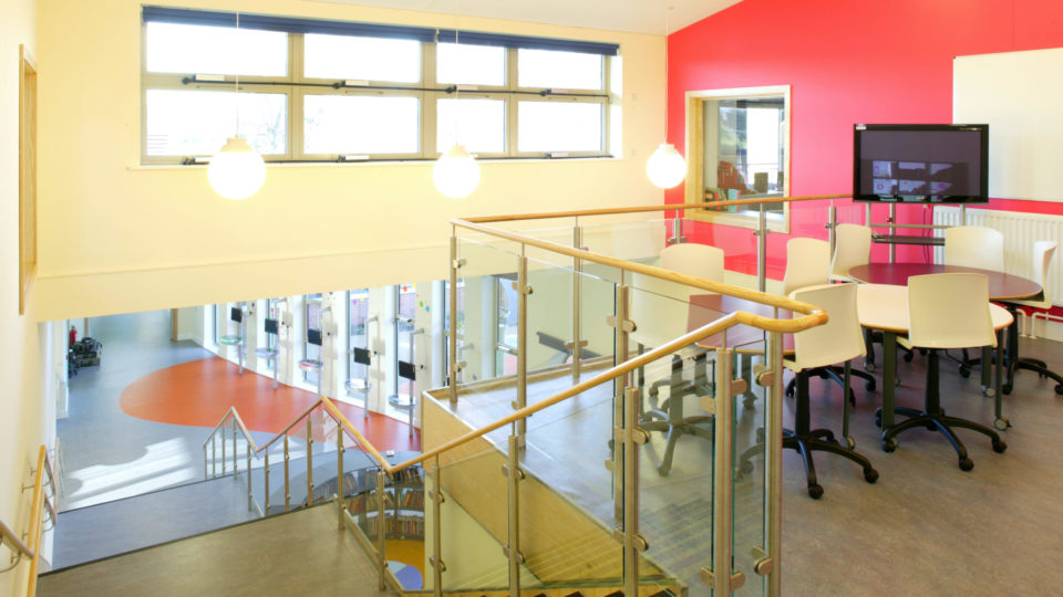 Stourport Primary School staircase