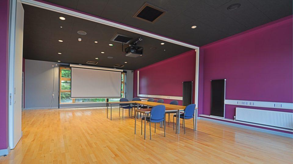 interior view of hall