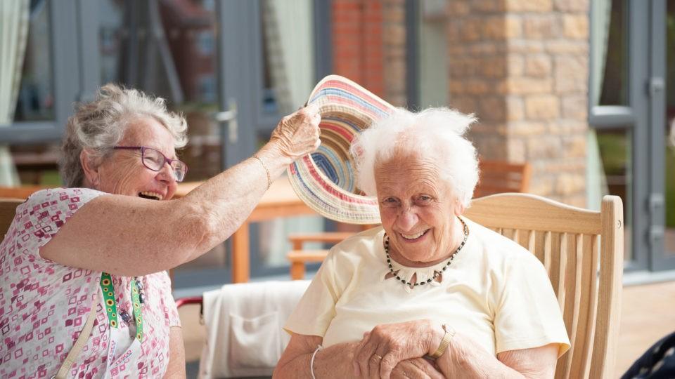 Arnolds Way, Extra Care Home elderly ladies