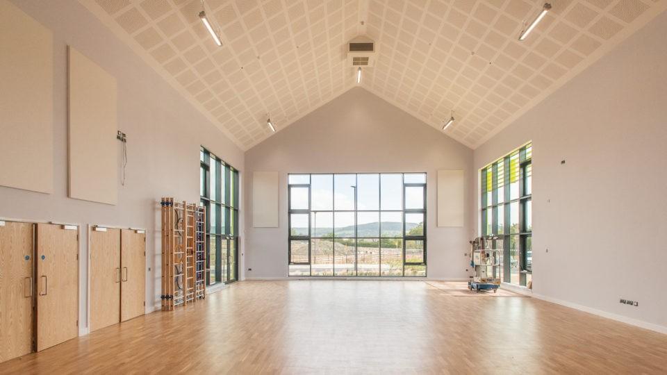 Great Oldbury Primary sports hall