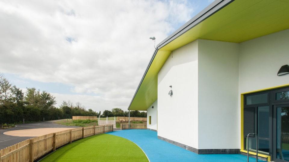 Great Oldbury Primary School external view of building